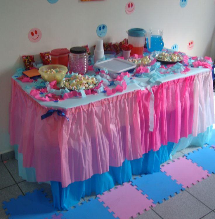 festa infantil simples, mesa de doces simples para festa infantil