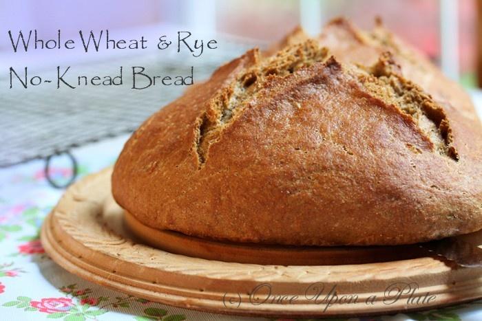 No Knead Whole Wheat Bread   breads   Pinterest
