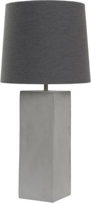 Concrete Cube Table Lamp by Viva Lagoon