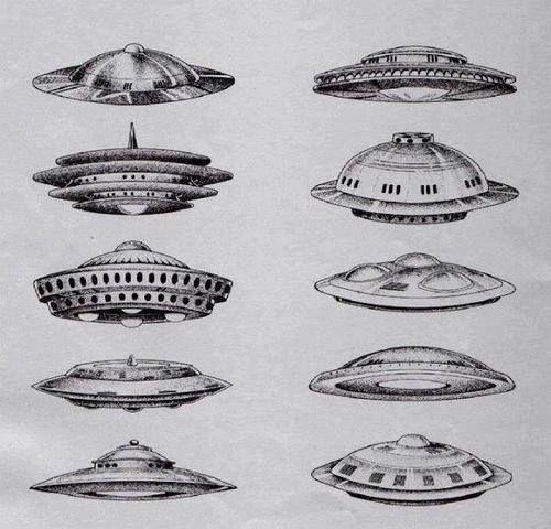 drawing Black and White b&w black draw alien aliens UFO ...