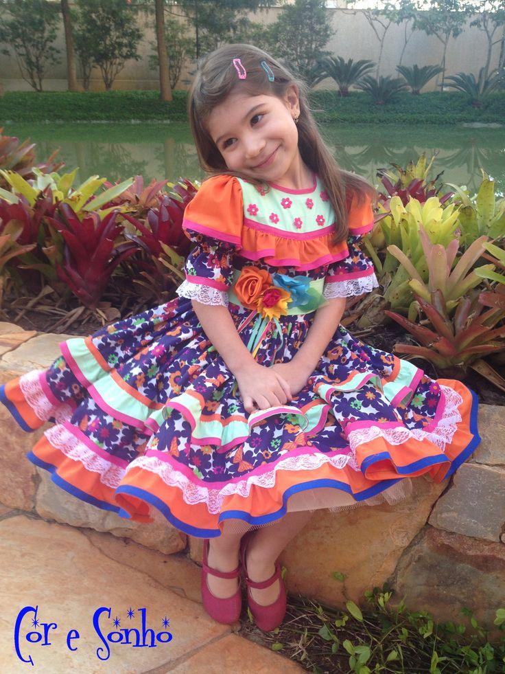 vestido-de-quadrilha-tamanho-4-a-anos-festa-junina