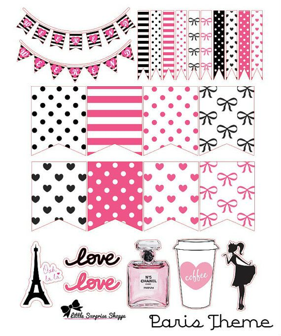 1 sheet includes: - 2 weekend banners - 12 small flags - 10 large flags (fit daily box) - 5 embellishment stickers   ****IMPORTANT***** Does