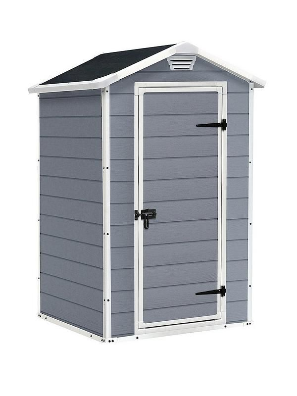 Keter 4X3 APEX MANOR RESIN SHED Garden storage shed