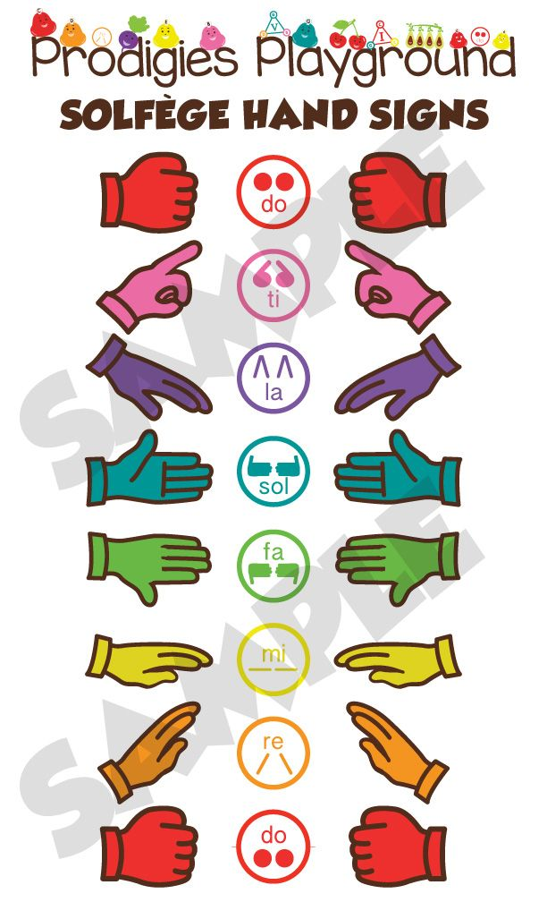 Sing in Tune using the Solfege Hand Signs!! Enter your e-mail and download a printable version of this poster to start your kids singing and hand-signing their way to a music education today!