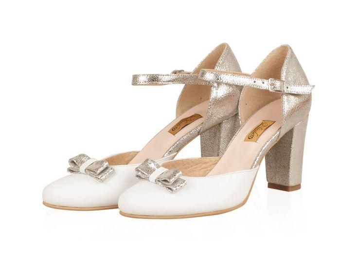 Pantofi mireasa -S45N Lara