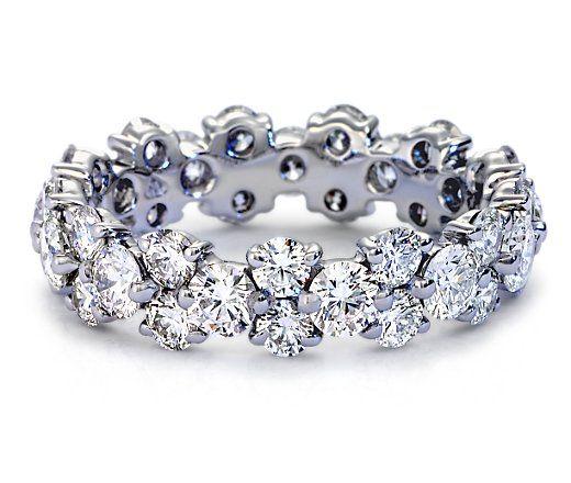 Garland Diamond Eternity Ring.