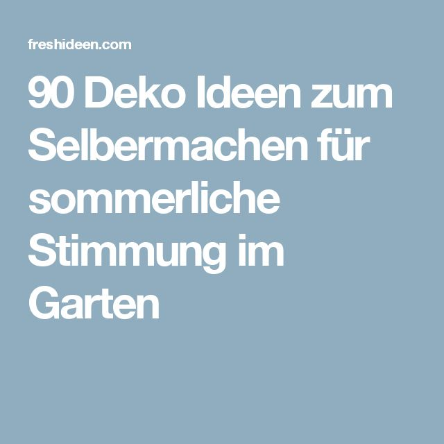 17 Best Ideas About Do It Yourself Gartendeko On Pinterest ... Open Air Kino Garten Selber Machen