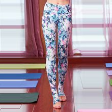 Fall and winter / tight yoga pants / female / sports / jogging pants / Fitness / printing / thin / step foot trousers(China (Mainland))