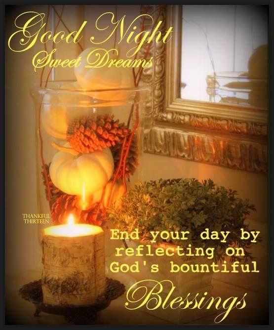 Good Night, God Bless!