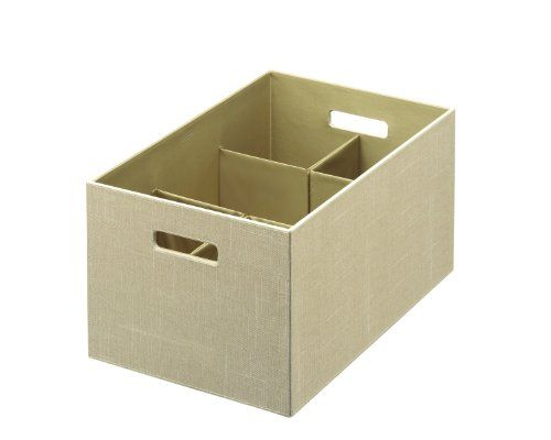 LOVE These - maybe for downstairs? Or even next to bed - Rubbermaid Bento Storage Box with Flex Dividers, Extra Large, Loose Linen (1791949) Rubbermaid Food Products, us kitchen, RUBT7 http://www.amazon.com/dp/B005XXGT9A/ref=cm_sw_r_pi_dp_H6Wrub08WQQX7