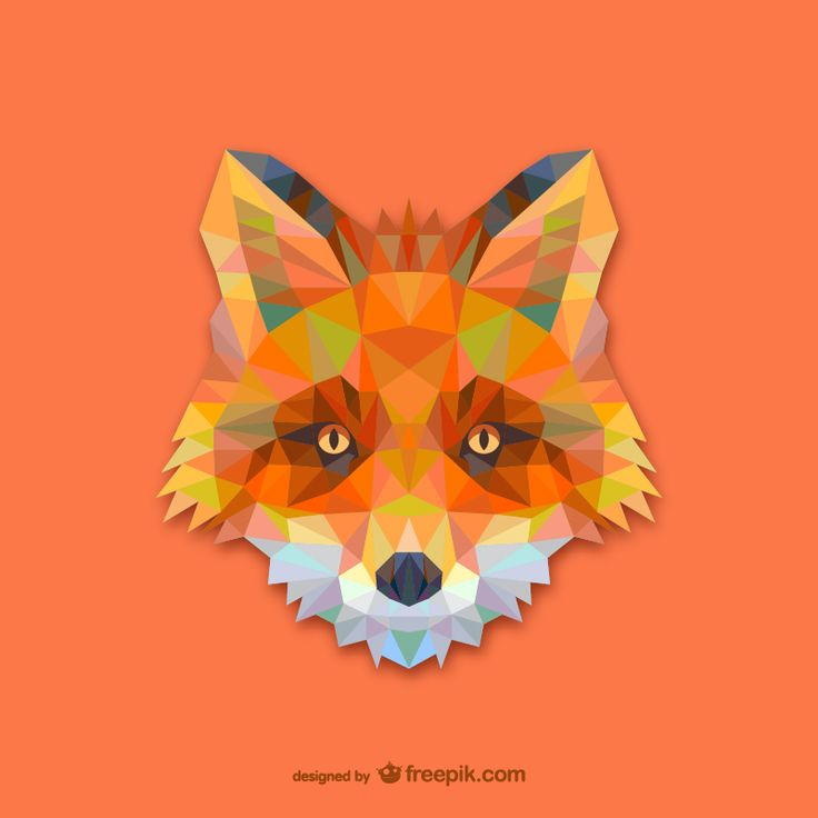 Pick up some foxxy geometric animal vectors from Design Crawl