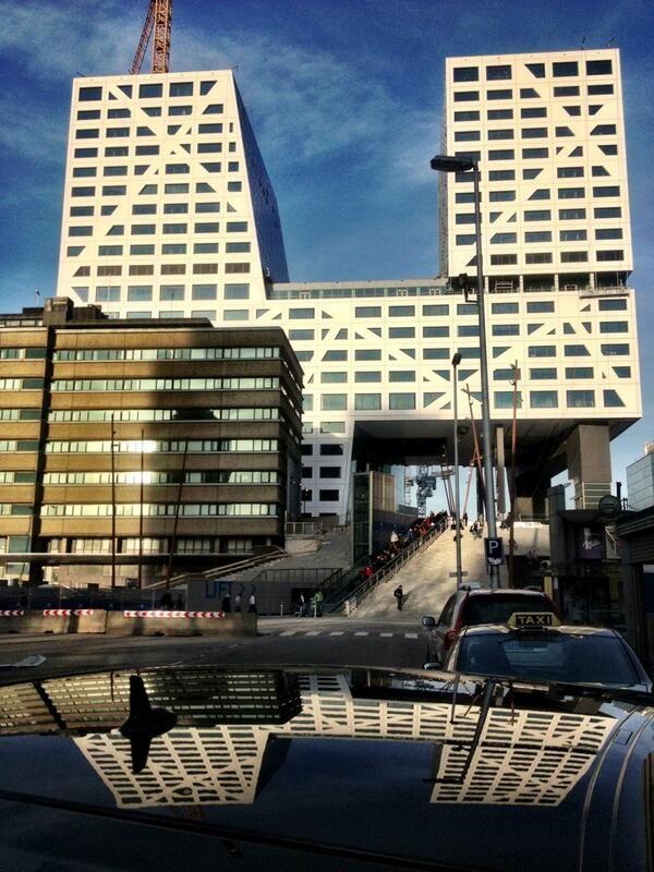 Stadskantoor Utrecht, architect Dirk Jan Postel van het Rotterdamse architectenbureau Kraaijvanger met Christian Müller