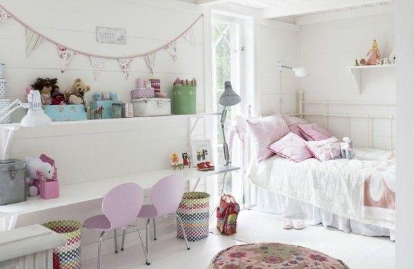 kinderzimmer mädchen hocker schreibtisch lila stühle