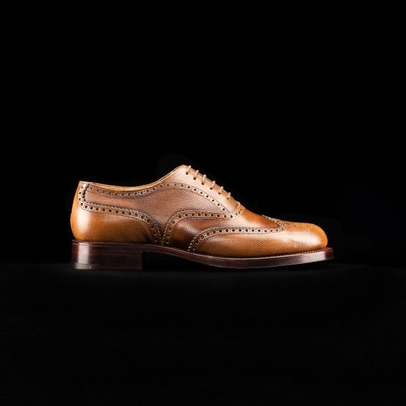 Shoe No 4, 1940's. Shop here.. http://www.grenson.com/uk/shoe-no-4-mens-brogue-tan-grain-leather-leather-sole.html