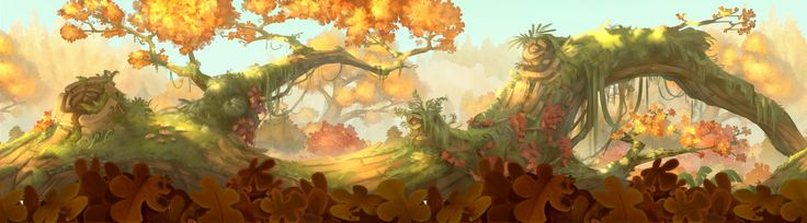 Autumn Tale, Samuel PIRLOT - PETROFF on ArtStation at https://www.artstation.com/artwork/ZZ4xR