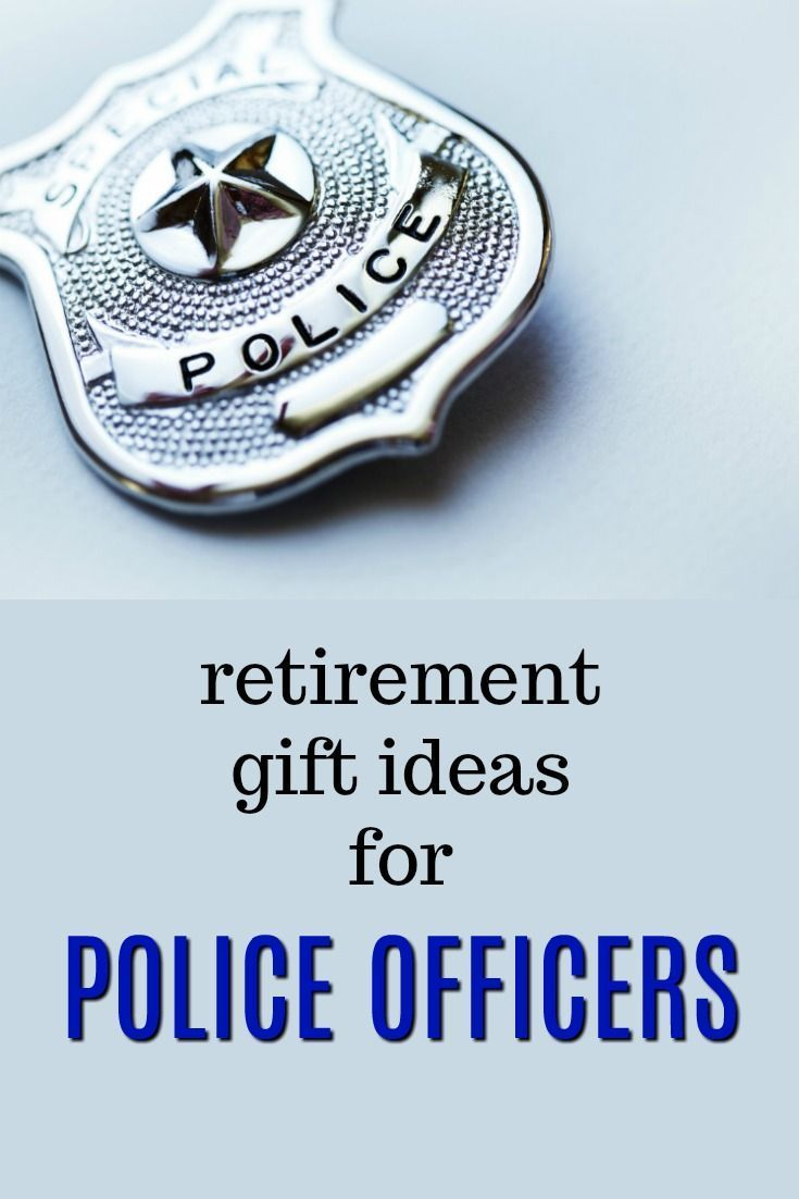Retirement Gifts for Police Officers | What to get a police officer for their retirement | What to get a retiring cop | Retirement presents for a policeman | retirement presents for a policewoman