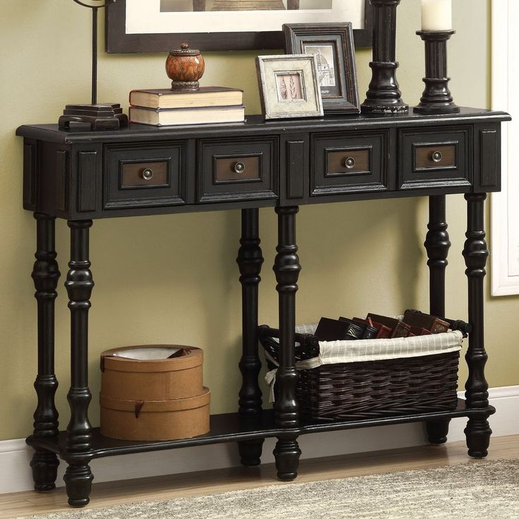 Black Entryway Table 25 best accent table ideas images on pinterest | console tables