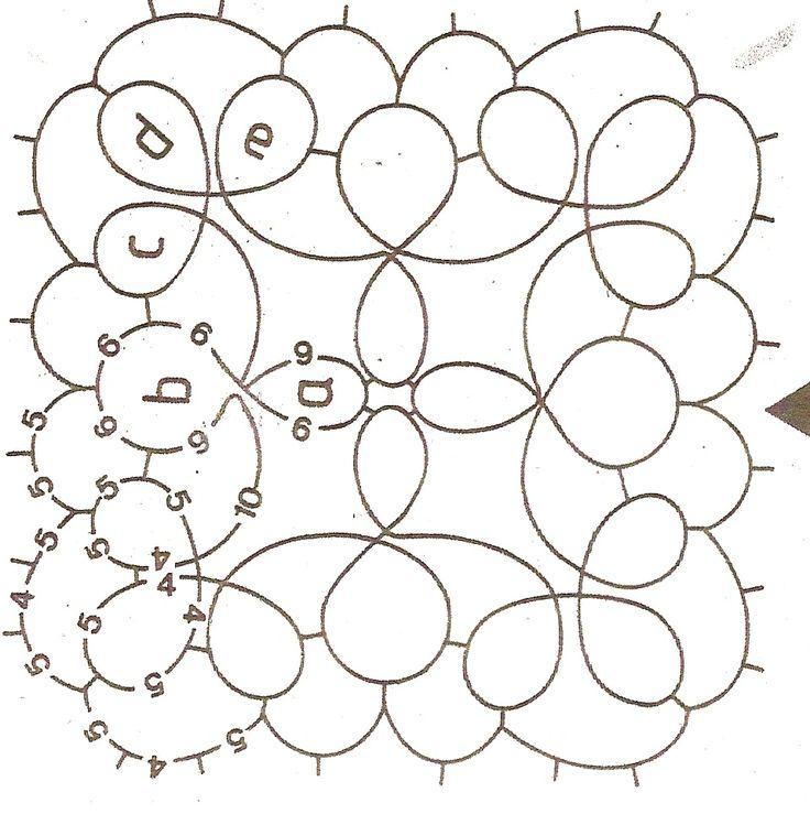 Square motif.