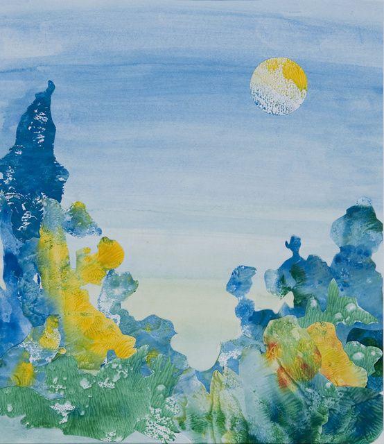 Landschaftsmalerei surrealismus  22 besten Aleatorik Bilder auf Pinterest | Malerei, Painting und ...