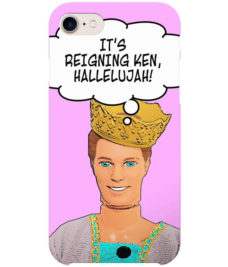 It's Reigning Ken i-Phone Case #humour #royalty #music #disco #theweathergirls #ken