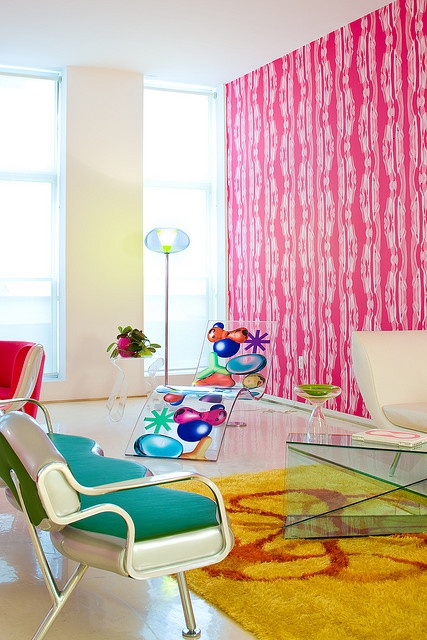 47 best Colourful interiors images on Pinterest | Living room ...