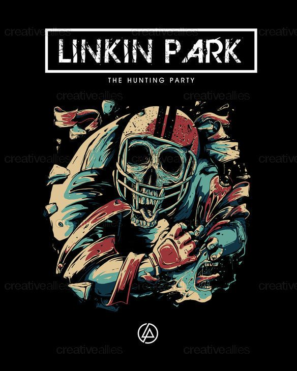 Linkin Park Poster by Mokomoko on CreativeAllies.com