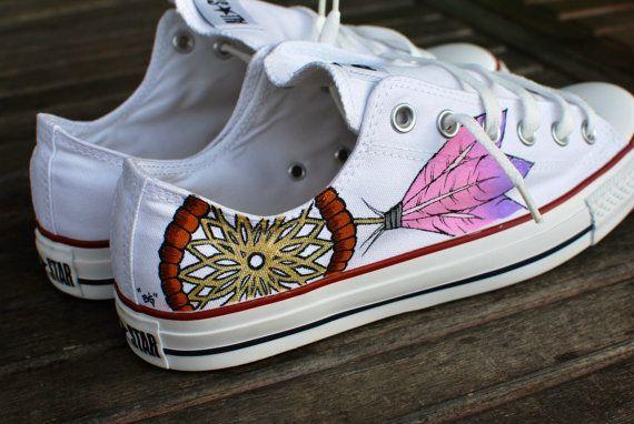 Dream Catcher Chuck T's.    #Converse #ChuckTaylorAllStars