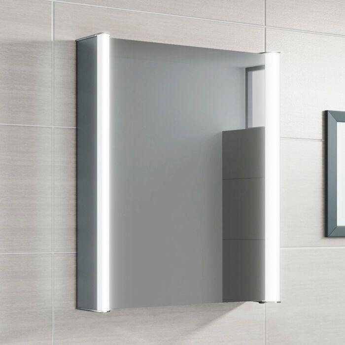 500x650mm Luminaire Illuminated Led Mirror Cabinet Bluetooth Speaker Shaver Socket Mirror Cabinets Led Mirror Mirror