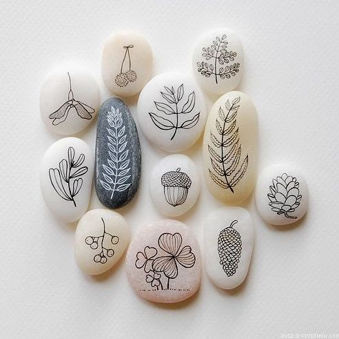 Painted rocks | Perfect summer craft