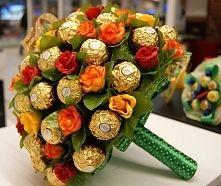 Zobacz zdjęcie Bukiet z Ferrero Rocher na 50 urodziny