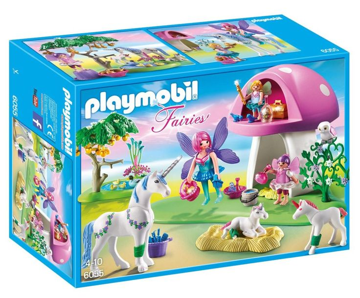 Amazon: PLAYMOBIL Fairies with Toadstool House ONLY $14.84 {reg. $25}