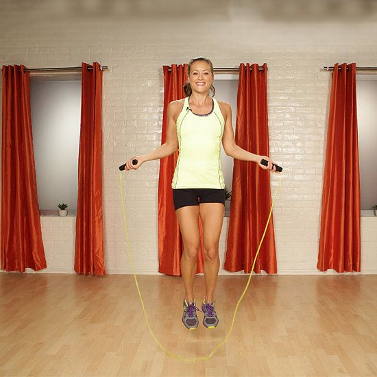 10-Minute Calorie-Torching Workout: The jump rope is more than child's play; we consider it to be the ultimate fitness tool.