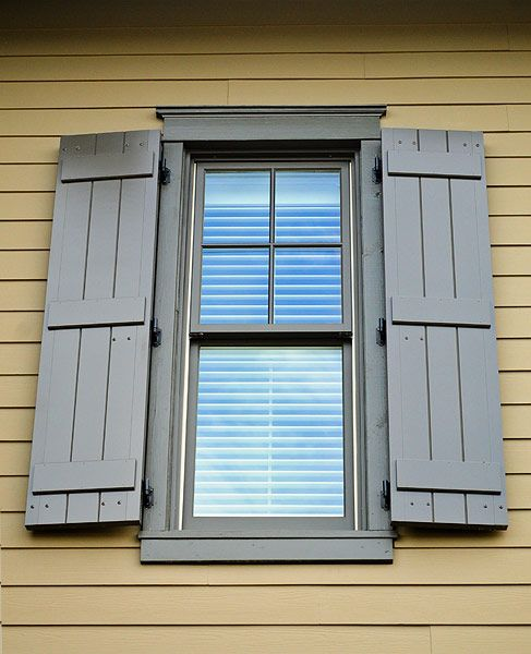 1000 images about shutters on pinterest board and batten shutters closet doors and for How to build board and batten exterior shutters