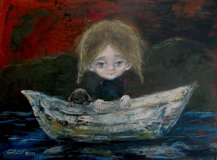 Nino Chakvetadze, 1971 | Children painter | Tutt'Art@ | Pittura * Scultura * Poesia * Musica |