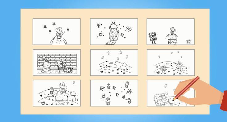 """Check out my @Behance project: """"Storyboard Spongebob & Friends"""" https://www.behance.net/gallery/50064235/Storyboard-Spongebob-Friends"""