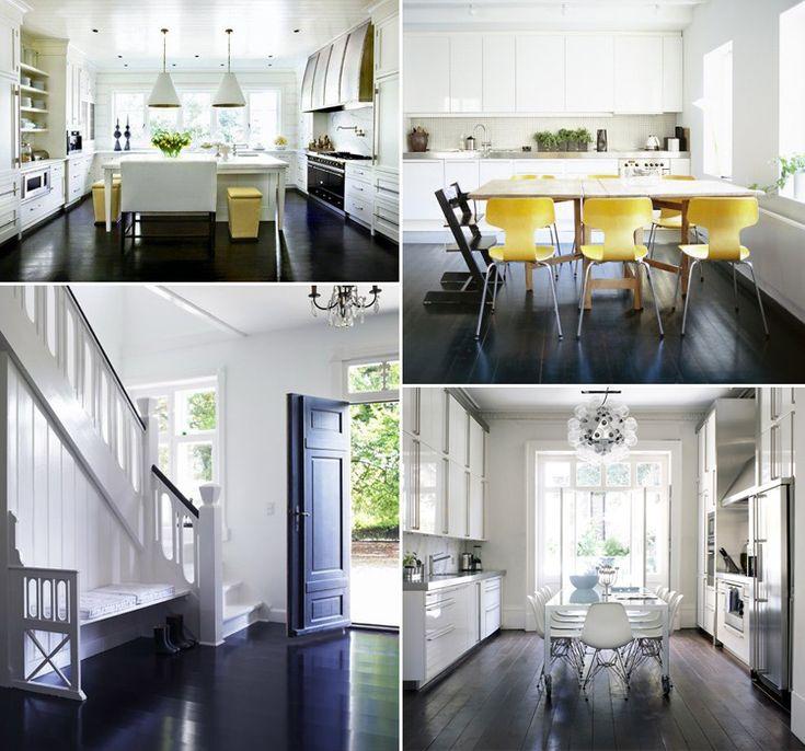 Best 25 Black wood floors ideas on Pinterest Black hardwood