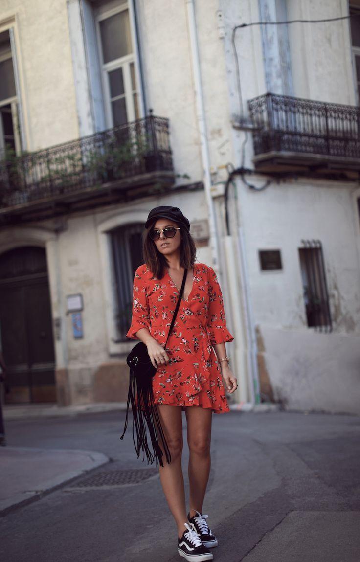 Épinglé sur robe rouge