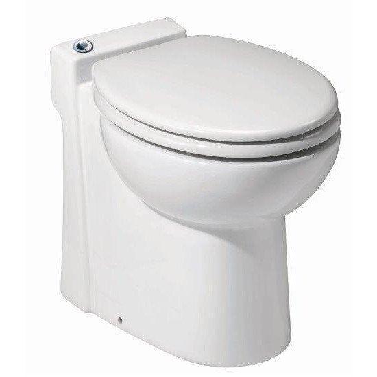 Saniflo SaniCOMPACT   One Piece Upflush Toilet