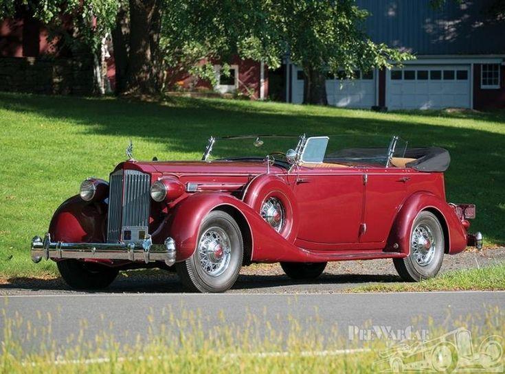 1935 Packard Twelve Sport Phaeton