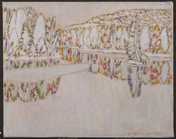 Outlet of the Pond by David Milne