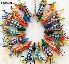 Fire Ring Shreddable Bird Parrot Cage Toy Medium Amazon Conure Cockatoo Senegal #parrotcagediy #parrotcageideas