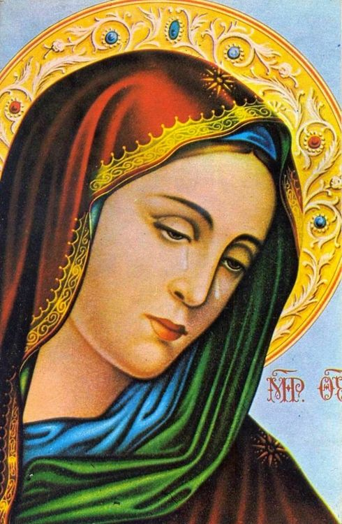 A postcard from the house of the Virgin Mary in Ephesus, Turkey
