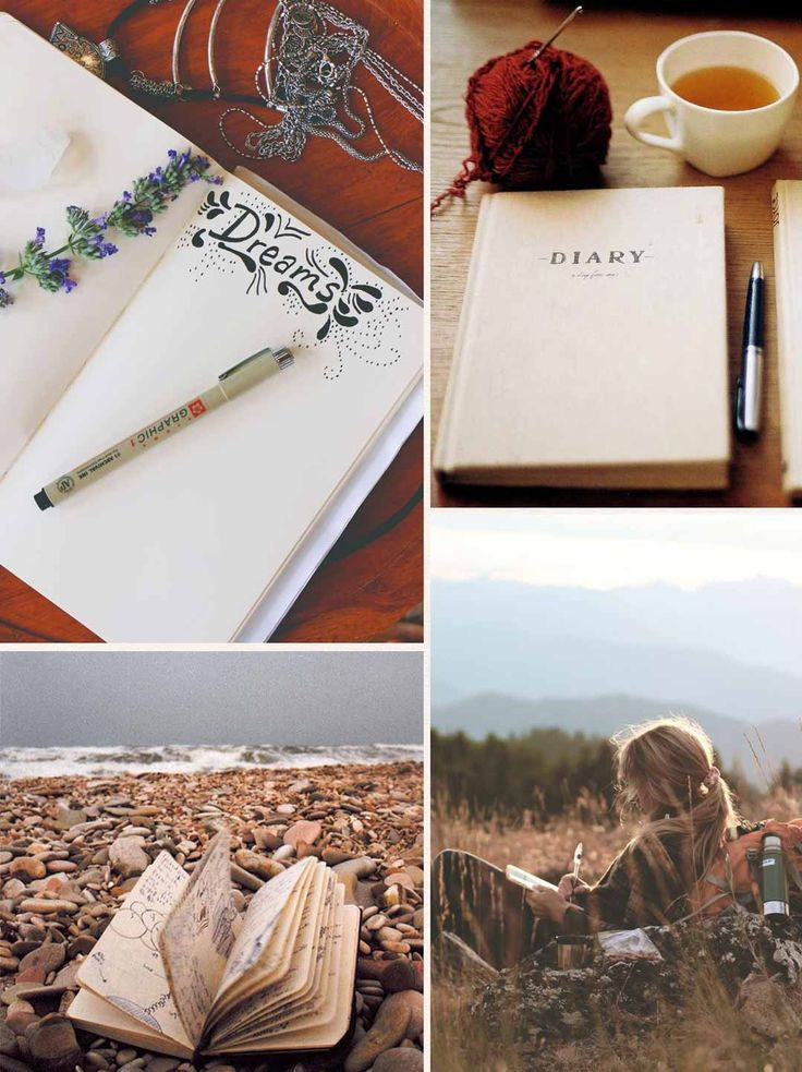 Comece a escrever um diário <3