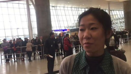 Lawyers are arriving by the dozens to JFK Airport in NYC taking shifts outside of interna #news #alternativenews