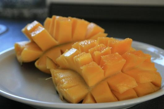 How to cut a mango the cool way