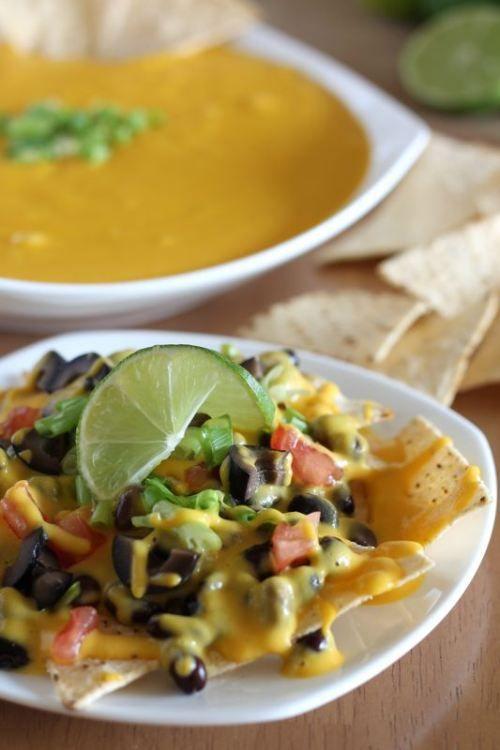 "Vegan Nacho ""Cheese"" #vegan #restaurantreviews"