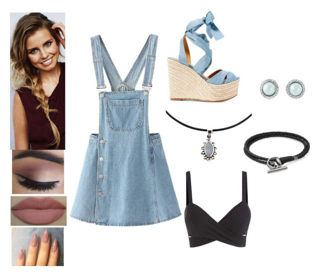 """""""Casual double denim 💎"""" by georgia-rose22 on Polyvore featuring Ralph Lauren and Gucci"""