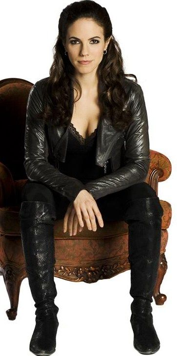 Bo from Lost Girl (but mostly her style and attitude...less her..uhh lifestyle.)