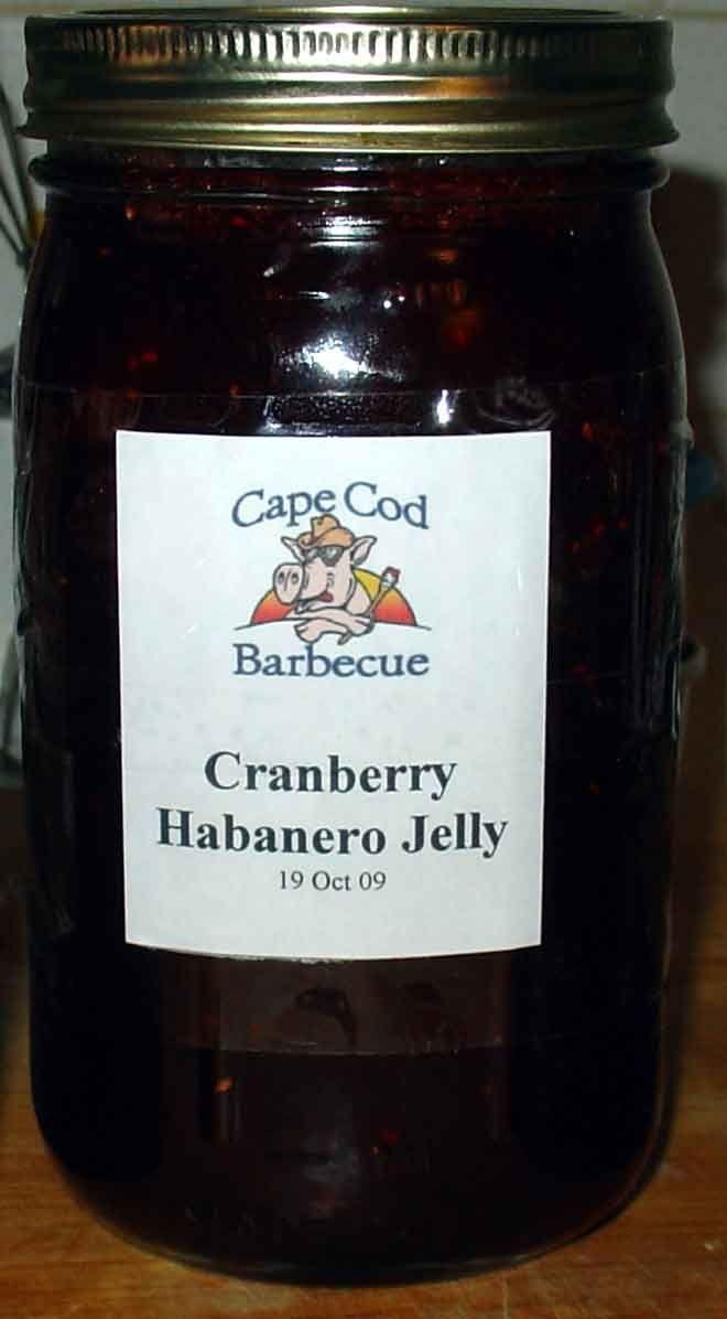 Cranberry-Habanero Pepper Jelly Recipe