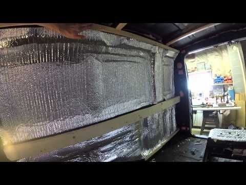 31 best images about diy camper van insulation water - Insulate interior walls for sound ...